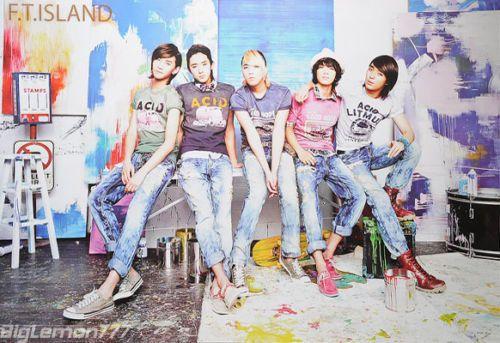 FT ISLAND Choi Jong Hun,Lee Hong Ki Boy Band Poster# 3